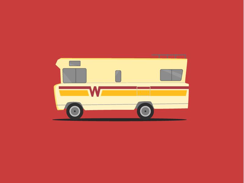 Keep It Fresh In A Winnebago by Jeremy Worley on Dribbble.
