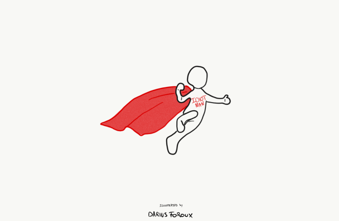 Quit Trying To Be A Superhero.