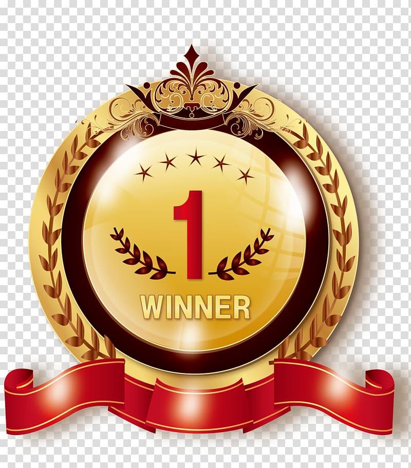1 Winner logo, Medal Icon, Rank Medal Medal Chart.