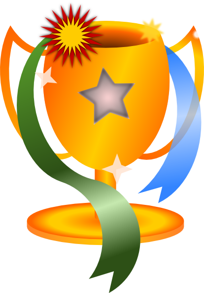 Winner Trophy Clipart.