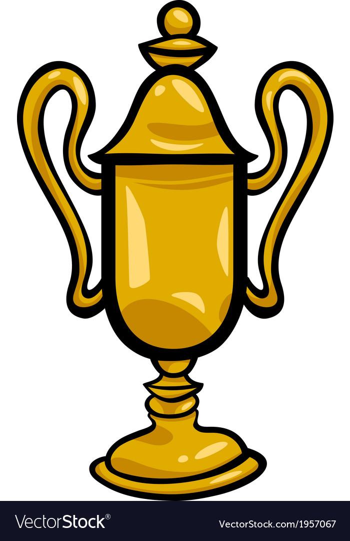 Winner cup clip art cartoon.