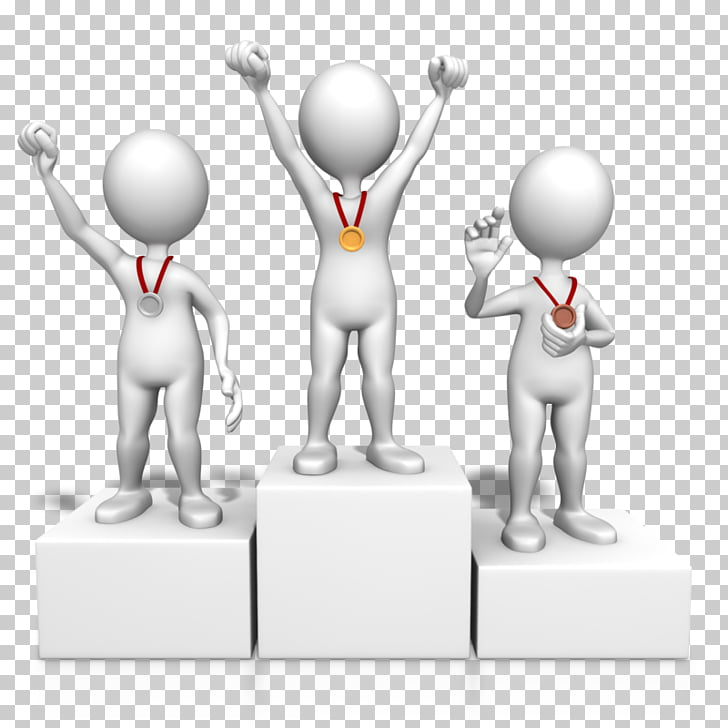 Podium PowerPoint animation Presentation , winner, three.