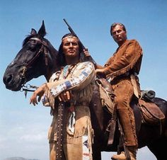 Winnetou + Winnetou ,my horse named after the hero and lookalike.