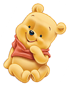 Winnie the Pooh Baby Shower Clipart.