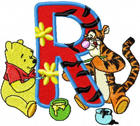 letter r designs.