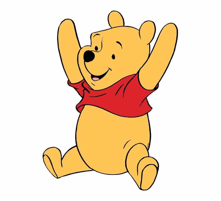 Pooh Cheering.