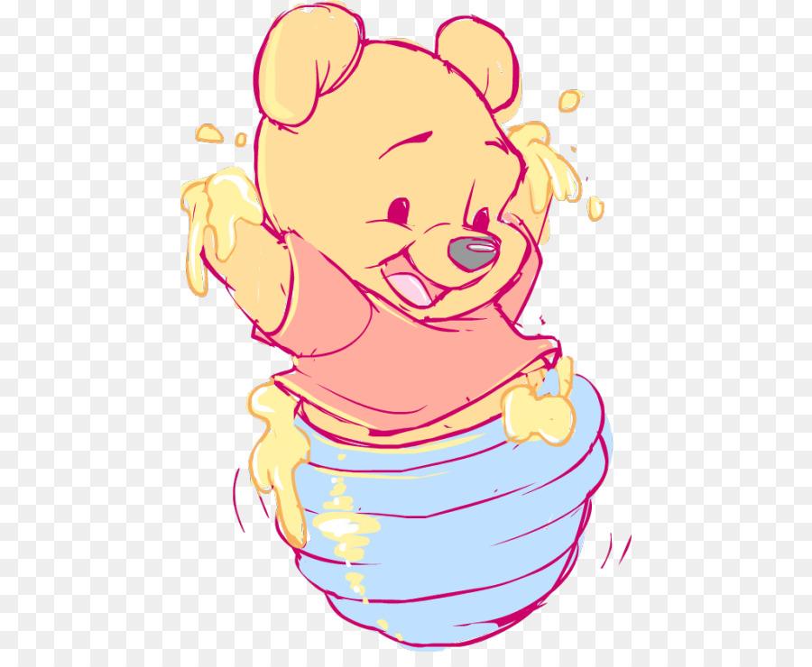 Winnie the Pooh Piglet Tigger Infant Clip art.