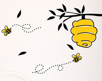 Winnie The Pooh Bees Clipart.