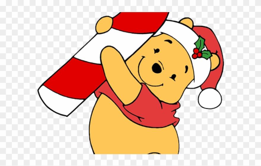 Cartoon Winnie The Pooh Christmas Clipart (#3785115).