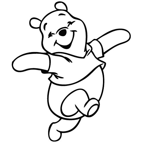 Winnie The Pooh Clipart Black And White (89+ images in Collection.