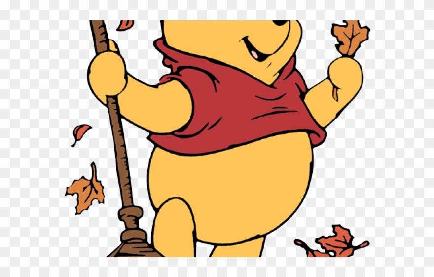 Winnie The Pooh Fall Clipart (#68388).