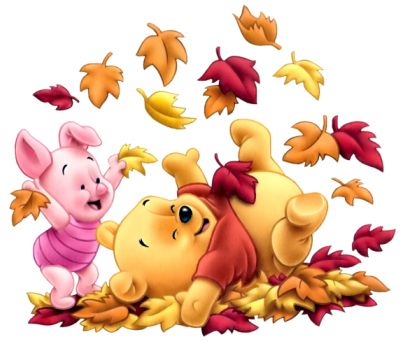 Baby Winnie and Piglet.