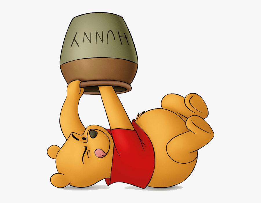 Winnie Pooh Honey Pot Clip.