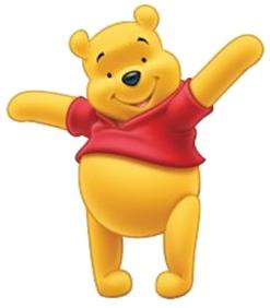 Winnie Pooh PNG images free download.