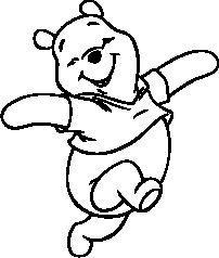 Winnie the Pooh Silhouette.