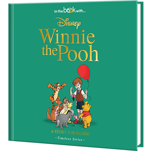 Personalized Disney\'s Winnie the Pooh Story Book.