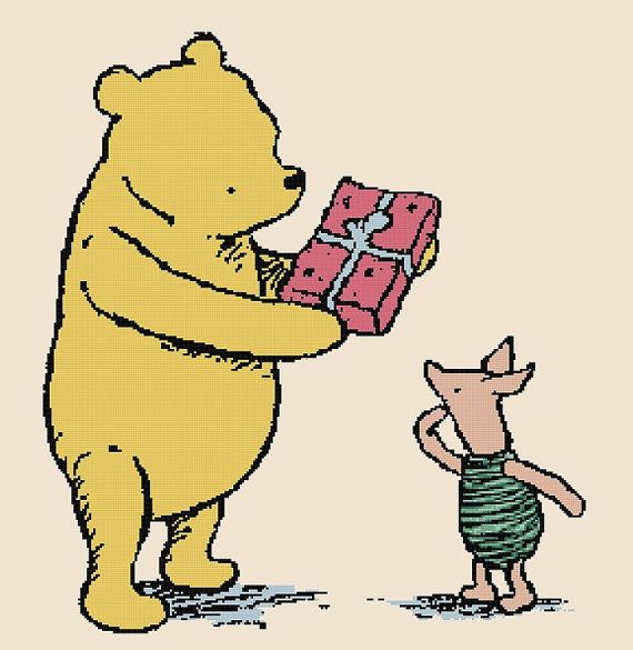 Classic Pooh Storybook Cover: \
