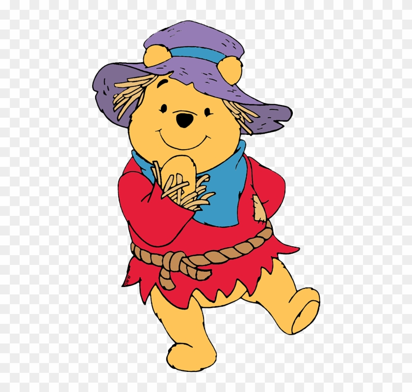 Winnie The Pooh Scarecrow , Png Download.