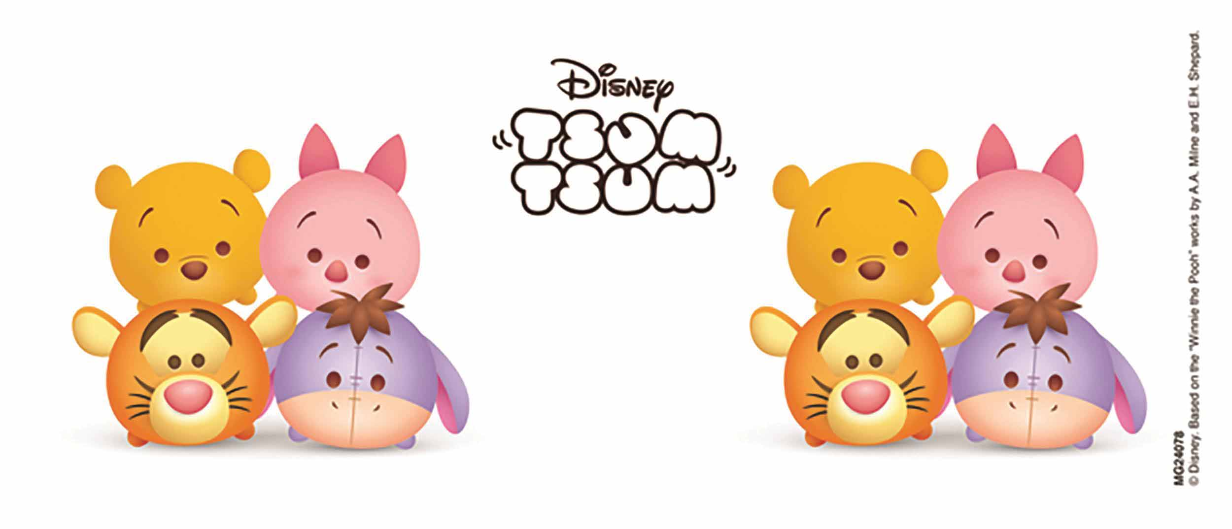 Winnie The Pooh Tsum Tsum Clipart.