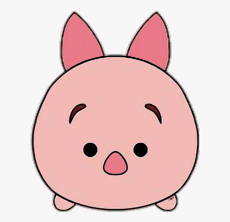 Tsum Tsum Piglet Clipart , Transparent Cartoon, Free.