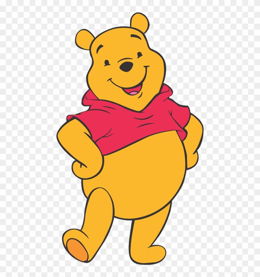 Pooh Vector Art.