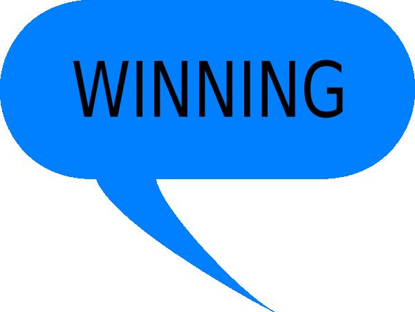 Winner Winning Clip Art Image, Winning Free Clipart.