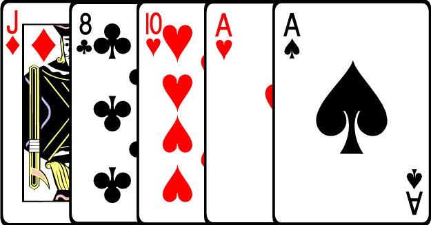 Poker Hands The Nine Main Winning Clipart.