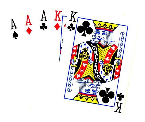 Poker Hand Image.