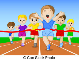 Foot race Clipart and Stock Illustrations. 892 Foot race.