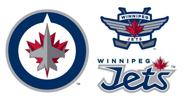 Here are the Winnipeg Jets' new logos.