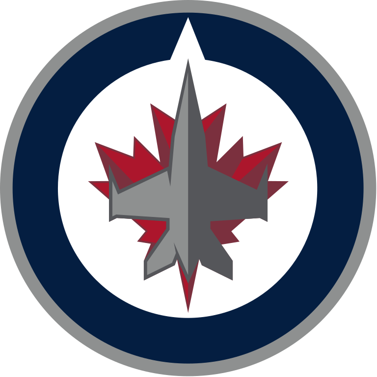 Winnipeg Jets Logo transparent PNG.