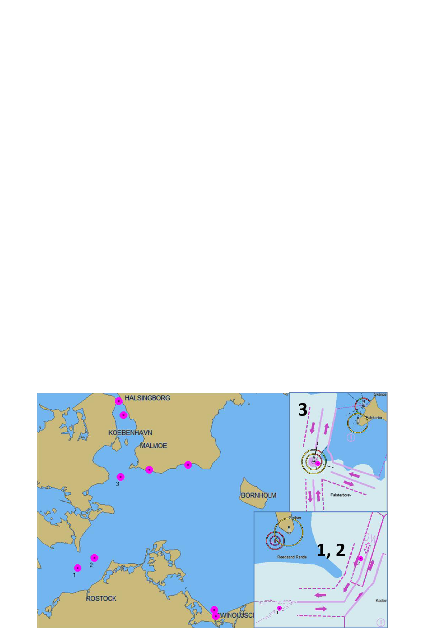 The probabilistic ships domain study and incidents model on the.