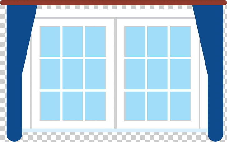 Window Glass , Sky blue windows PNG clipart.