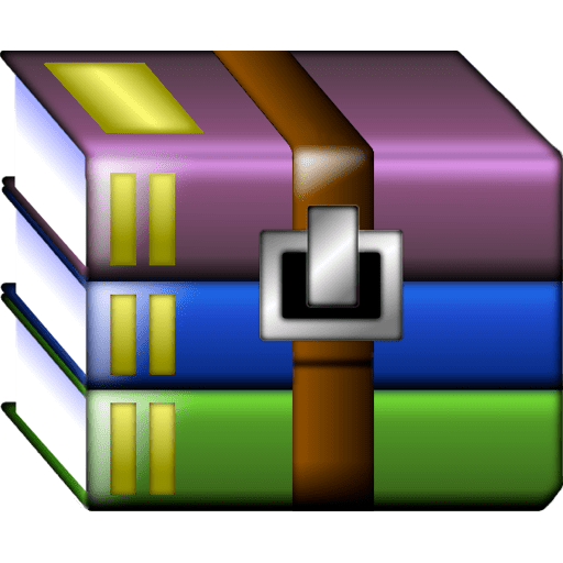 Winrar Icon transparent PNG.