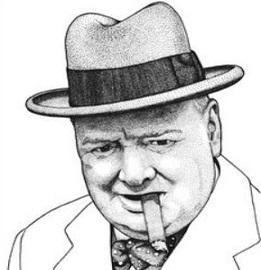 Free Winston Churchill Clipart.