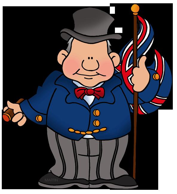 Free Britain Clip Art by Phillip Martin, Winston Churchill.