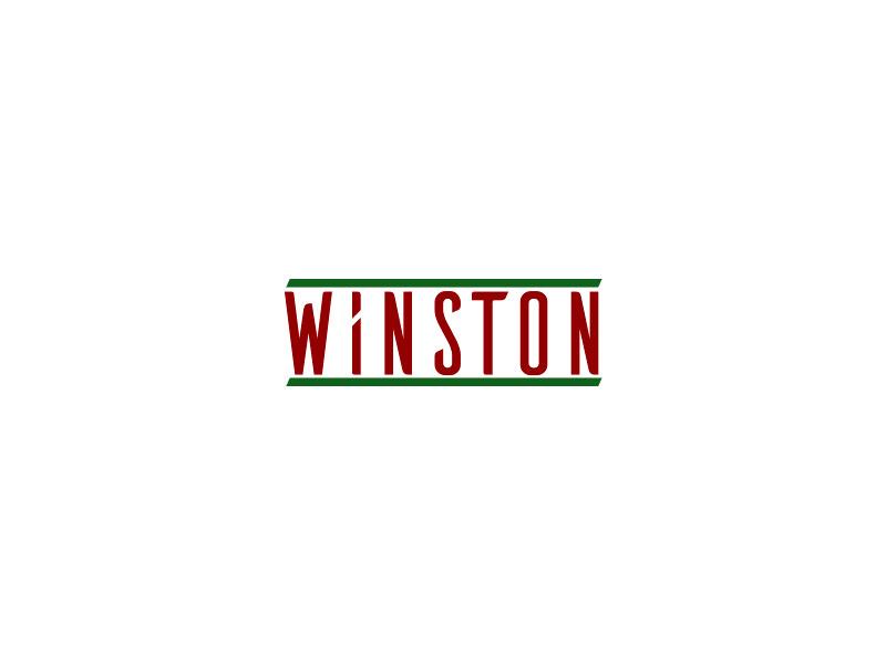 Winston Retro Logo (Redesign) by Bora Özbaş on Dribbble.
