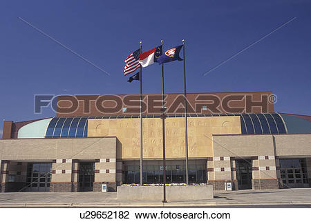 Stock Photo of arena, stadium, Winston.