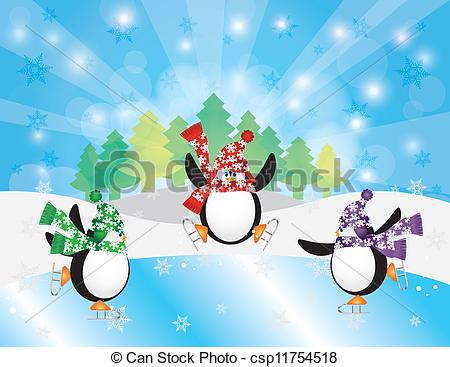 Skating penguins Illustrations and Clip Art. 238 Skating penguins.