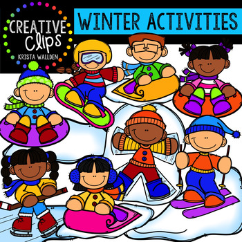 Winter Activities: Winter Clipart {Creative Clips Clipart}.