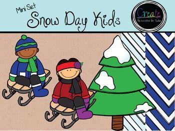 Happy Winter! Free Snow Clipart.