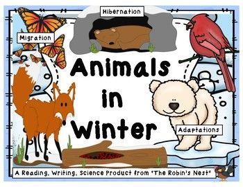 Animals in Winter: Adaptation, Migration. and Hibernation.