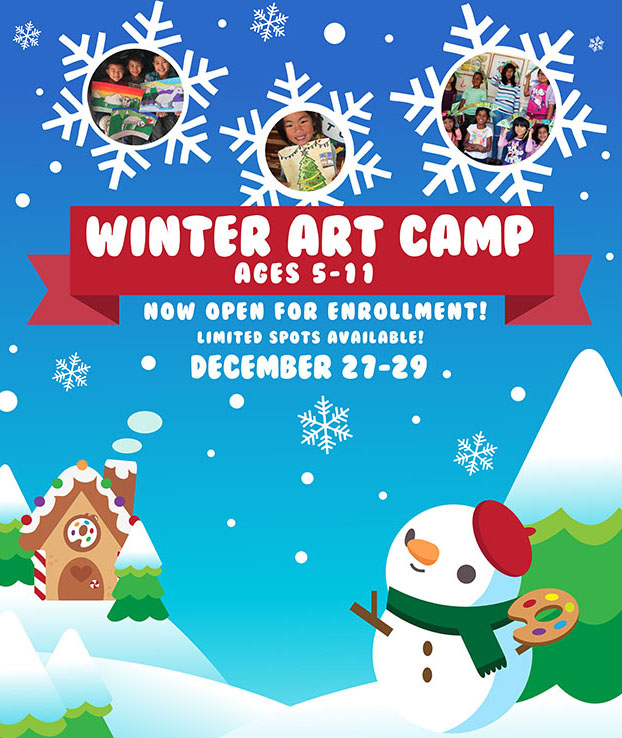 Winter Art Camp 2017.
