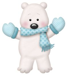 Winter Baby Animal Clipart Png.