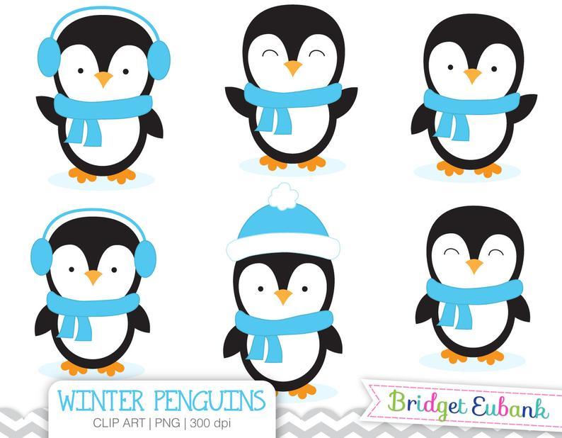 Penguin clipart winter, Penguin winter Transparent FREE for.