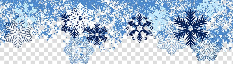 Snowflake Transparent Background Winter Clipart.