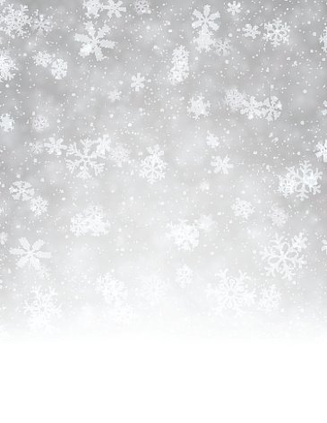Winter background Clipart Image.