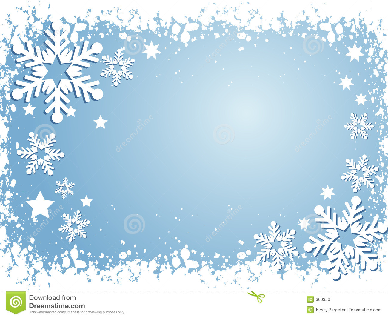 Free Clipart Snowflake Background.