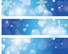 Free Winter Banner Cliparts in AI, SVG, EPS or PSD.