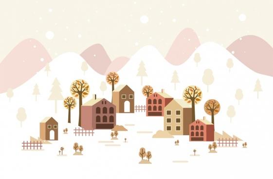 Winter scene clipart free vector download (5,341 Free vector.